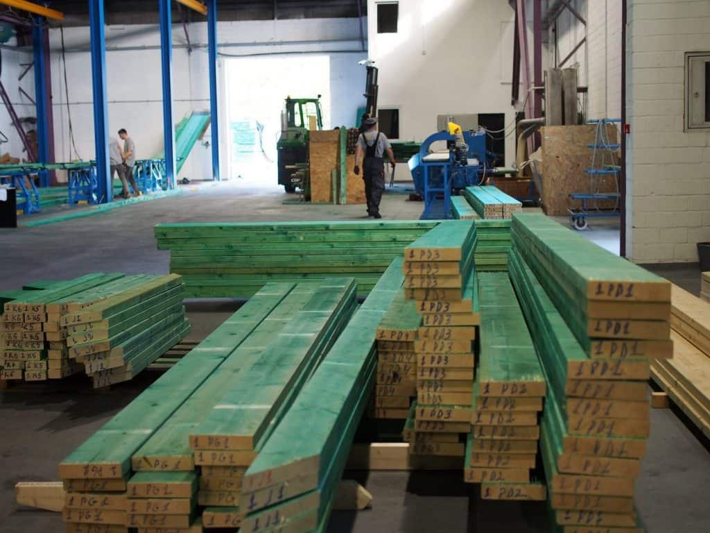 Drewno C24 na więźbę