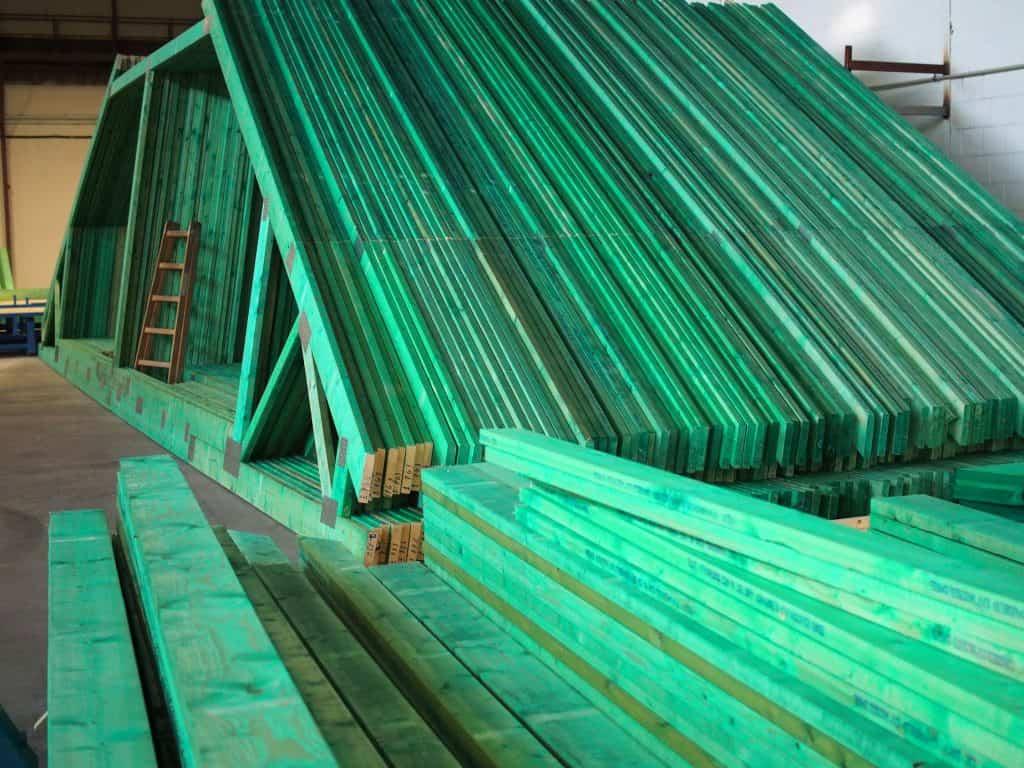 Wiązary na dach domu jednorodzinnego