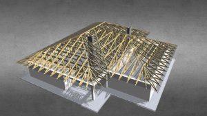 Konstrukcja dachu prefabrykowana