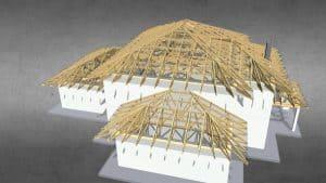 Prefabrykacja konstrukcji drewnianych