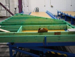 Produkcja wiązarów dachowych drewnianych