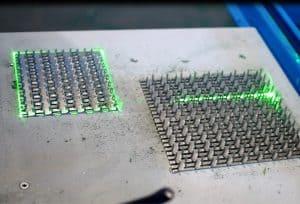 Produkcja wiązarów laser