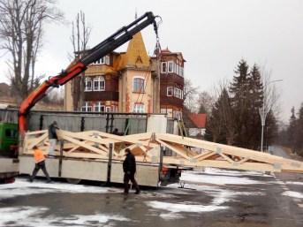 budowa domu wiązary