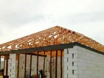 dach wiązarowy montaż mgdachy