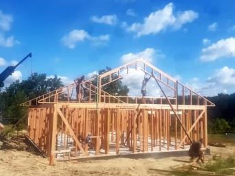 Dom drewniany prefabrykowany mgdachy