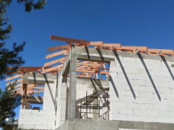 Konstrukcja dachu domek jednorodzinny