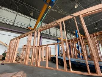 Konstrukcje prefabrykowane drewniane