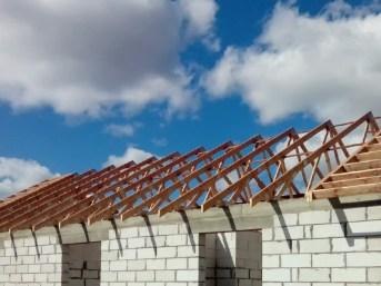mgdachy wiązary na dachu