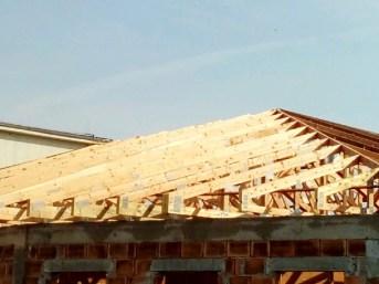 wiązary prefabrykowane dach domu mgdachy