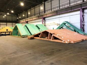 Zakład produkcji wiązarów dachowych